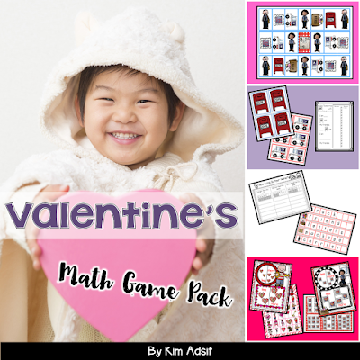https://www.teacherspayteachers.com/Product/Valentines-Day-Math-Game-Pack-111402