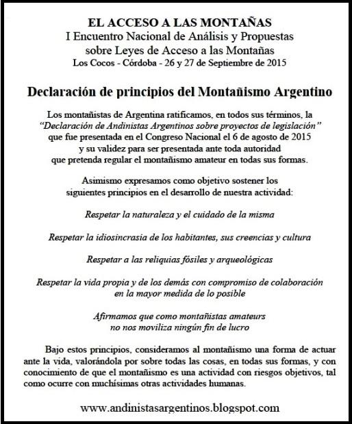 Andinistas Argentinos