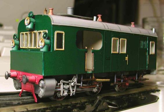 PAPERMAU: 1907`s Steam Railcar GR 60 Paper Model - by Bob`s