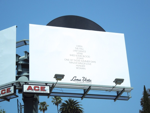 Rhye Woman billboard
