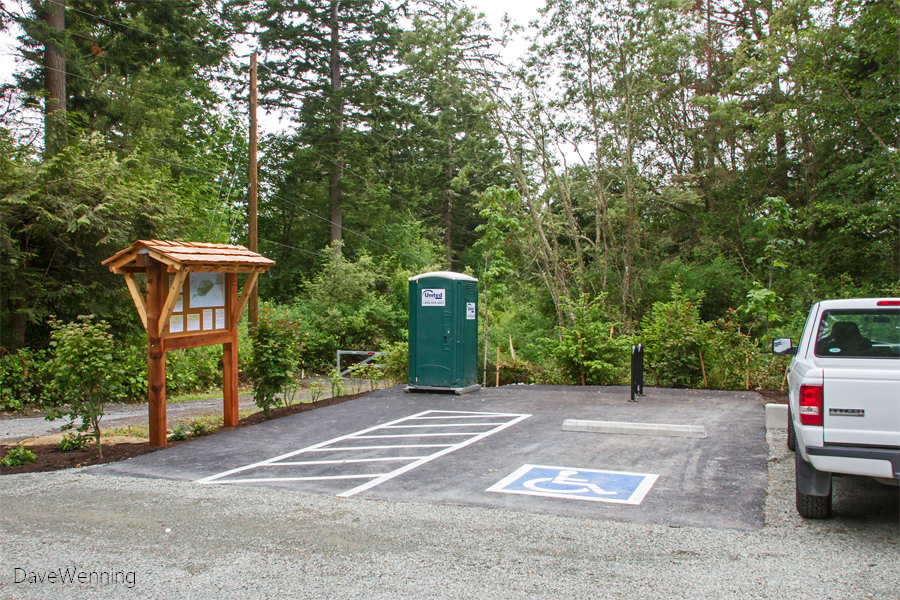 New Parking Lot, Kukutali Preserve