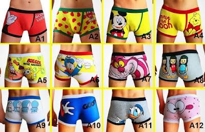 Cartoon Boxer Shorts