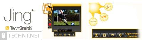 أفضل 5 برامج مجانية لتصوير الشاشة الكمبيوتر ( بديل كامتازيا ستوديو ) jing techsmith - التقنية نت - technt.net