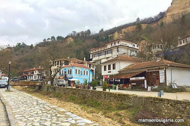 Calle principal de Melnik, Bulgaria
