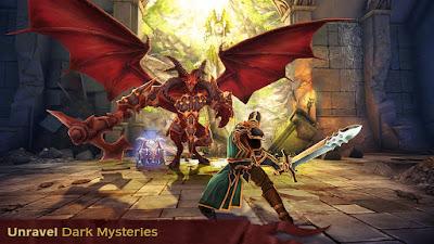 Venture into the darkest dungeons and vanquish an unrelenting demon horde in this grand f Dawnbringer v1.0.2 Full Apk + Data