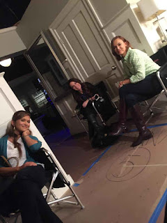 PLL BTS 6x09 Nia Peeples, Holly Marie Combs and Lesley Fera