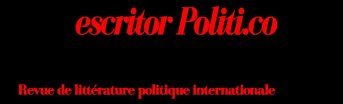 fr.Écrivain Politique : Revue de littérature politique internationale ISSN 2618-3978