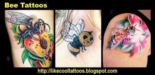 Symbolic Meaning Of Bee Tattoos Like Cool Tattoos