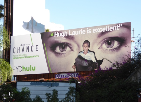 Chance season 1 Hulu FYC billboard