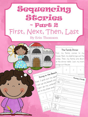 https://www.teacherspayteachers.com/Product/Sequencing-Stories-Part-2-First-Next-Then-Last-2407942