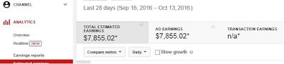 cara dapat uang dari google adsense dengan youtube realtime