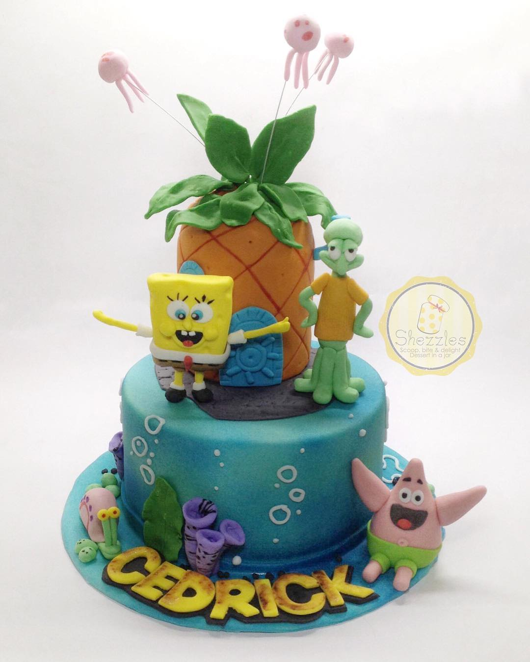 Swell Shezzles Cakes And Pastries Spongebob Squarepants Cake Funny Birthday Cards Online Alyptdamsfinfo