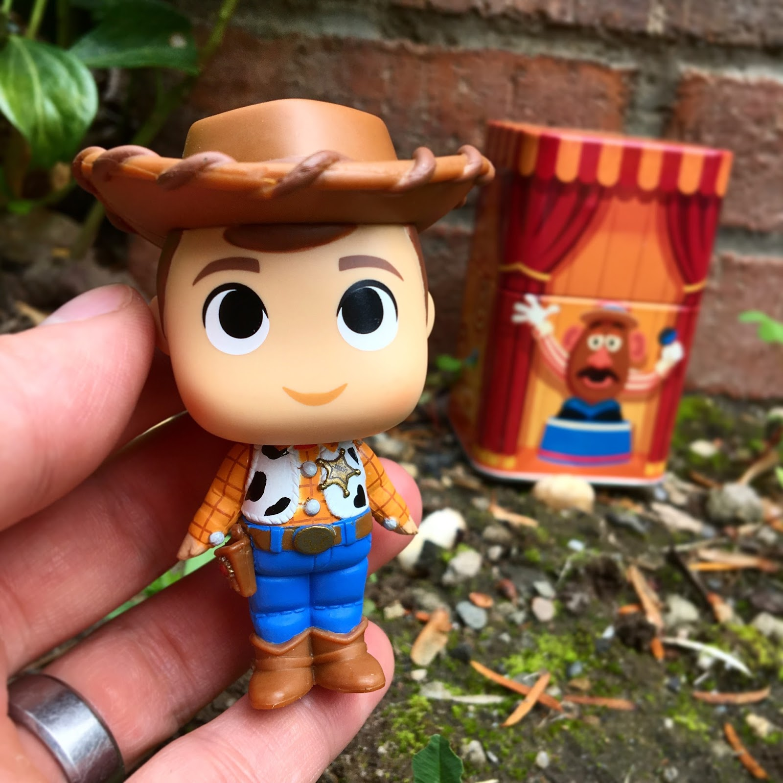 woody funko disney treasures mystery mini