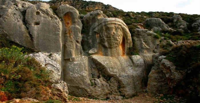 Χαρώνειον: Η Γιγάντια σκαλισμένη προτομή στην Αντιόχεια