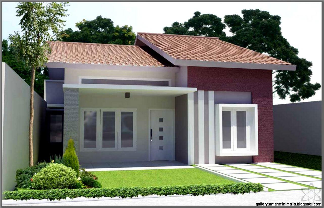 Rumah Sederhana  Gallery Taman Minimalis