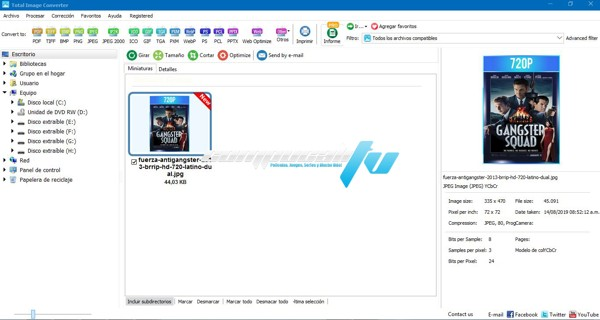 Total Image Converter Versión 8.2.0.206 Full Español
