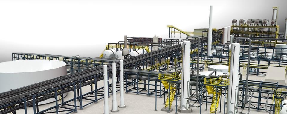BIM plantas industriales