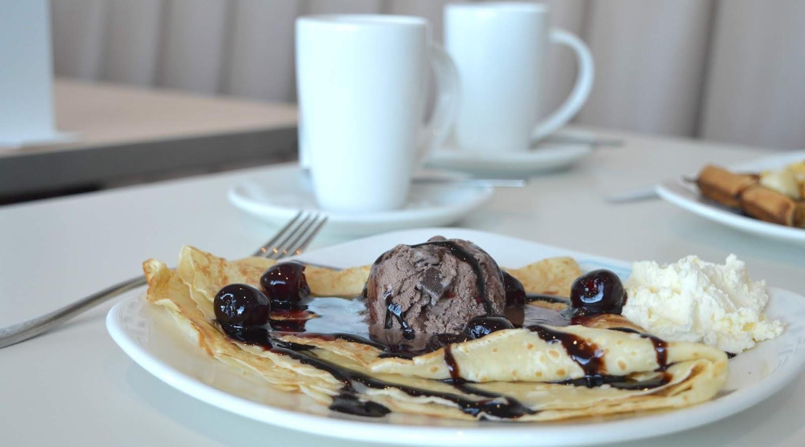 The Waffle and Pancake House, Spanish City