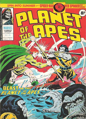 Marvel UK, Planet of the Apes #85