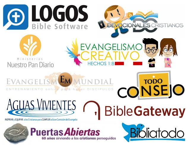 LAS 10 MEJORES PAGINAS CRISTIANAS ~ Evangelismo Creativo