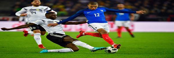 المنتخب الفرنسى يحقق التعادل السلبى أمام نظيرة الإلمانى