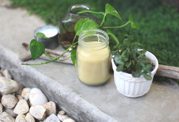 DIY Citronella Candles For Summer