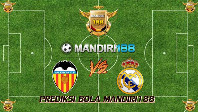 AGEN BOLA - Prediksi Valencia vs Real Madrid 27 Januari 2018