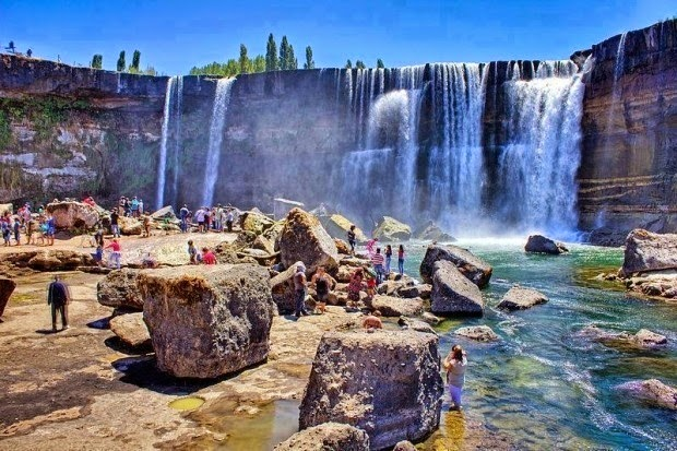 #18. The Laja Falls in Chile. - 19 Secret Travel Destinations You Never Knew Existed… Almost Nobody Knows About #17.