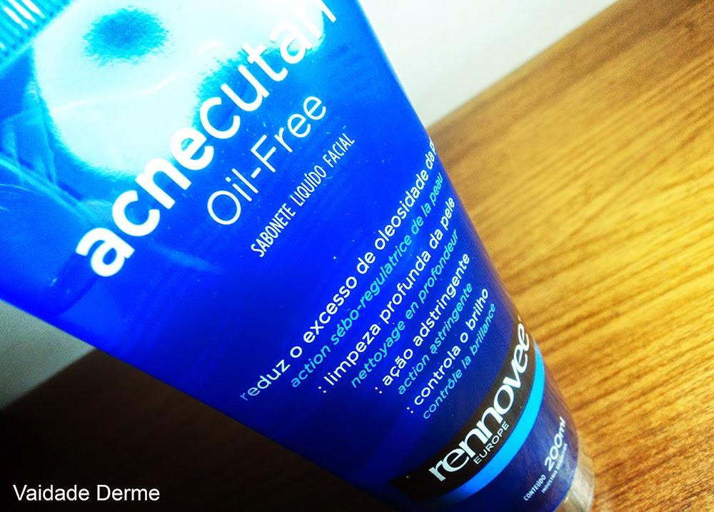 Nutrilatina Rennovee Acnecutan Sabonete Liquido Facial