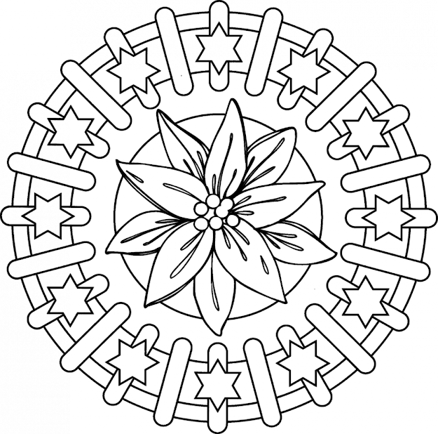 Adult Mandala Coloring Pages Free Printable Coloring Pages Coloring Pages  For Mandalas Flower Mandala Coloring Pages For Adults