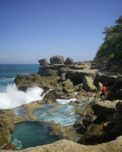 pantai kedung tumpang wisata tulungagung