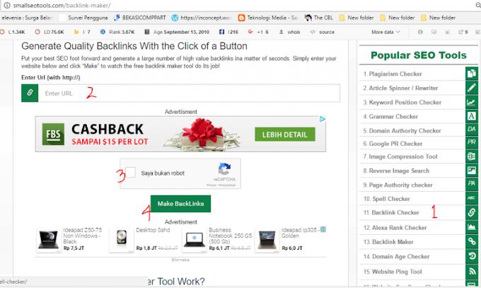 Cara Membuat Backlink Otomatis Pada Blog