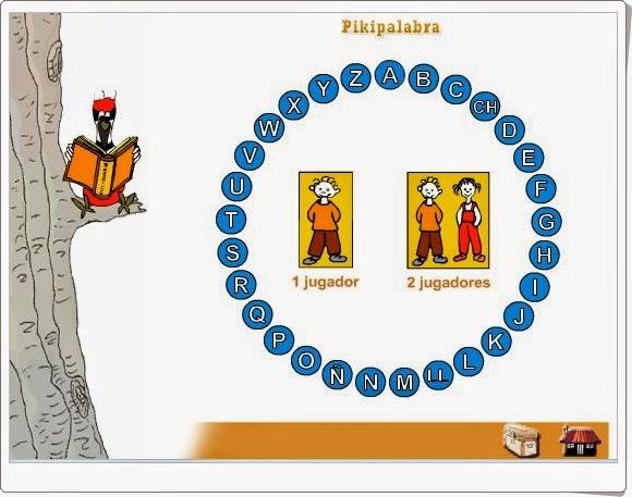 """""""Pikipalabra"""" (Juego de Vocabulario  de Primaria)"""