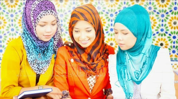 kesalahan saat memakai hijab