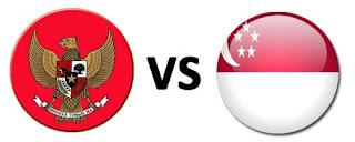 Timnas Indonesia vs Singapura