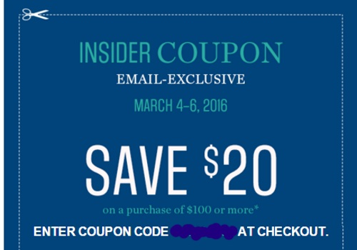 Sears Insider Exclusive Coupon Codes Up To $50 Off