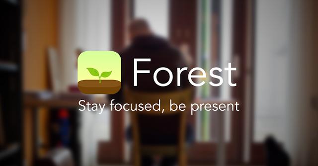 Logo do aplicativo de produtividade Forest
