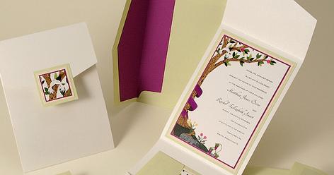 32 Contoh Desain Undangan Pernikahan Unik Modern Elegan Cantik