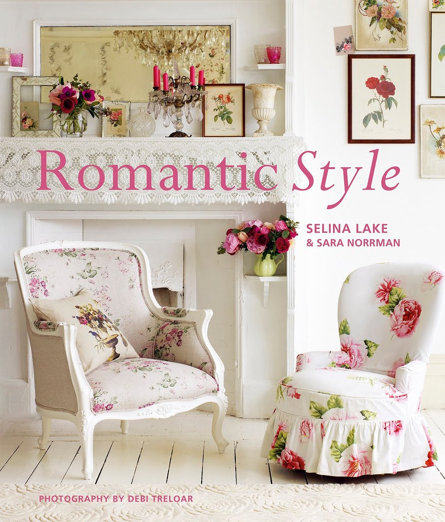 Giveaway- Romantic Style Book giveaway