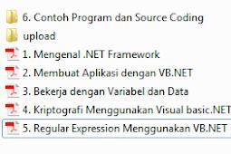 Ebook Pemrograman Visual Basic Net Lengkap Dari Pemula Hingga Mahir