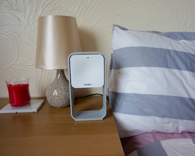 Sleep Monitor from ResMed, review, s+, sleep better, sleep solution, hannah rose, hanrosewilliams, blogger