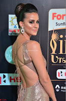 Lerisa Bonisa in a Sleeveless Deep neck Golden Gown ~  Exclusive 046.JPG