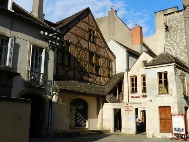 Maison Milliére, Dijon, Borgoña, Francia