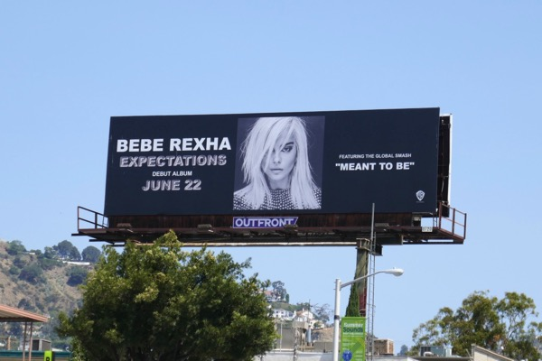 Bebe Rexha Expectations billboard