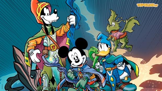 Il rifugio degli elfi wizards of mickey