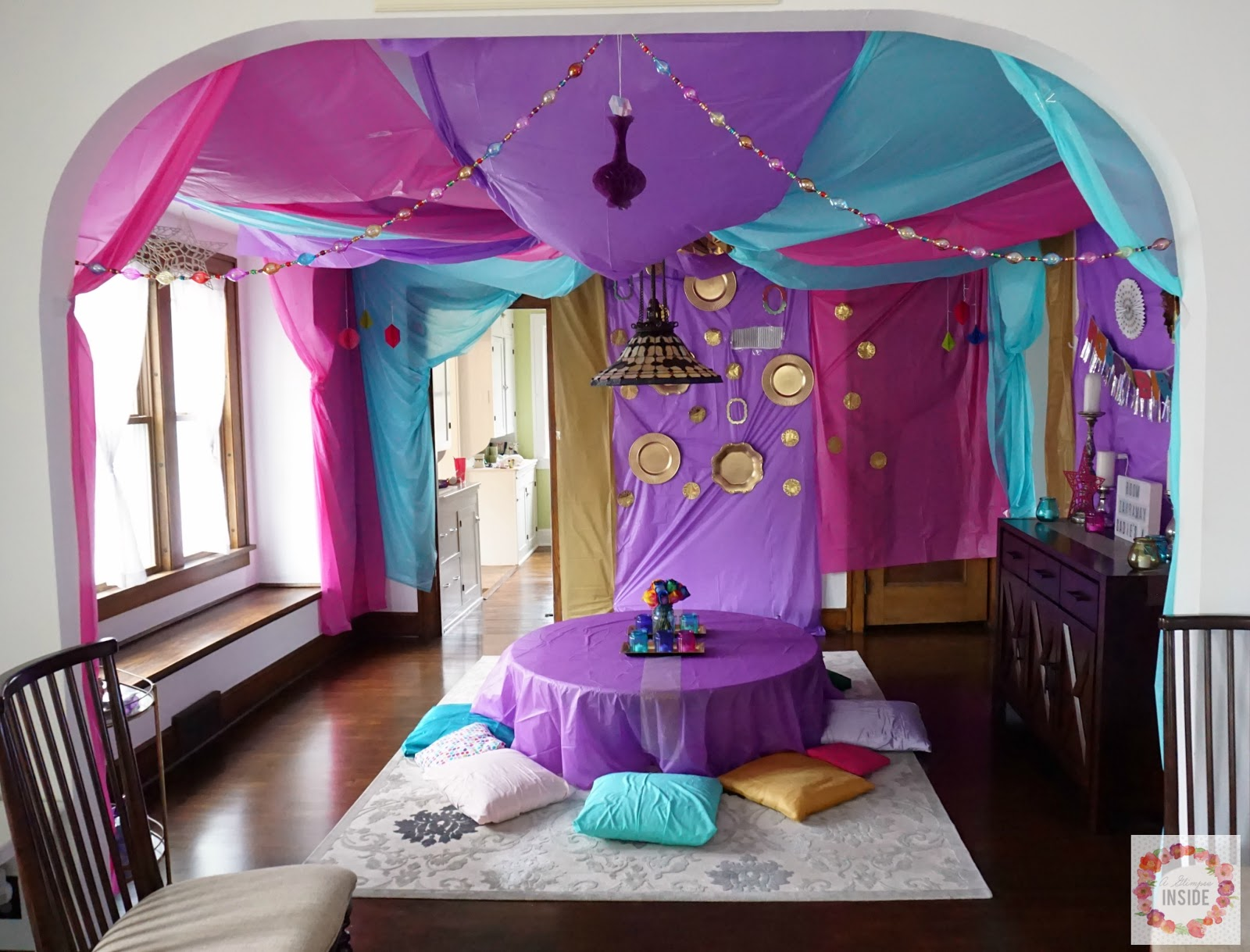 Miss Ss Shimmer And Shine 4th Birthday Party A Glimpse Inside