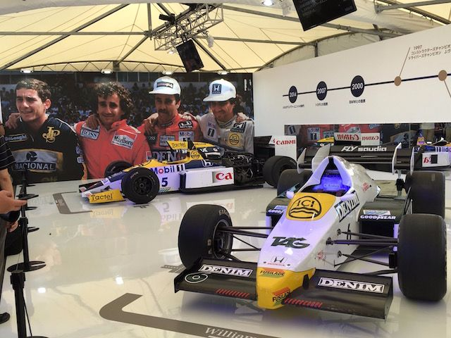 F1日本グランプリ2017 ウィリアムズFW06とFW11
