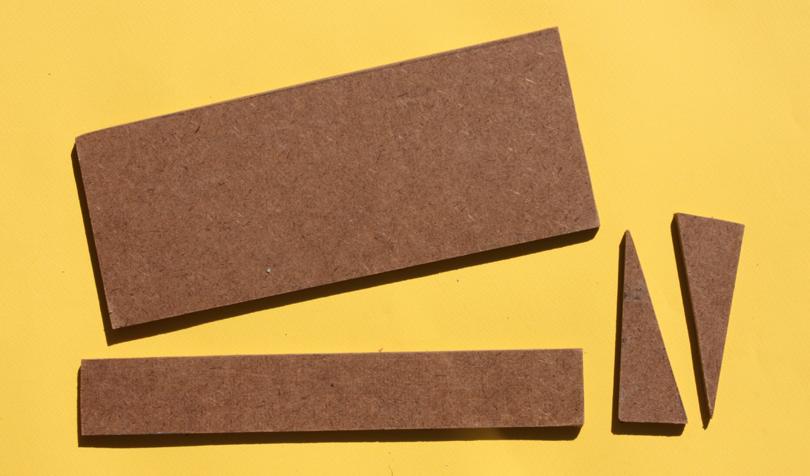 1 4 Inch Tempered Hardboard ~ Modeling the sp a shelf to sort waybills