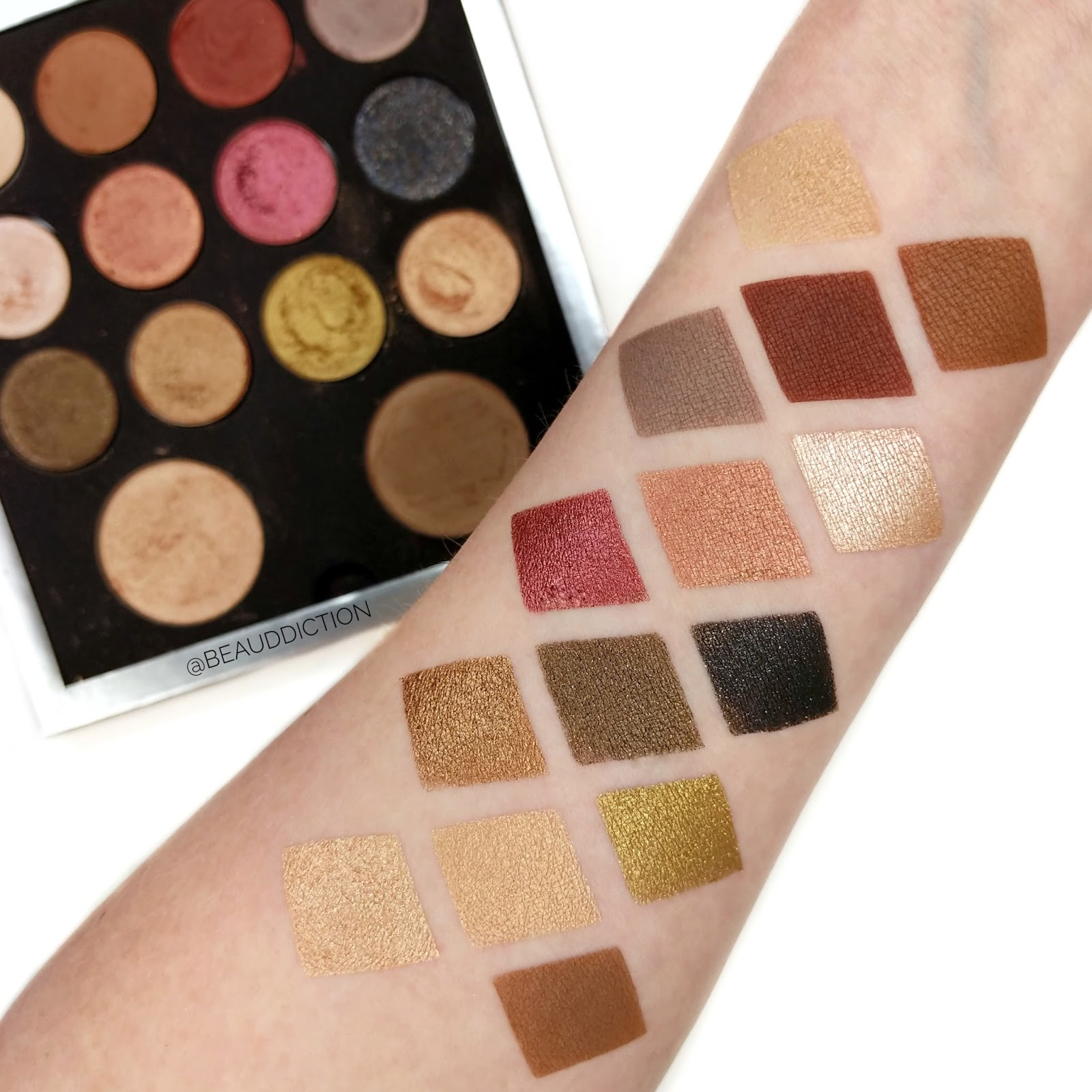 pur cosmetics creator palette review swatches