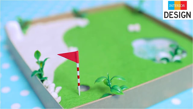 DIY Miniature Golf Zen Garden 54